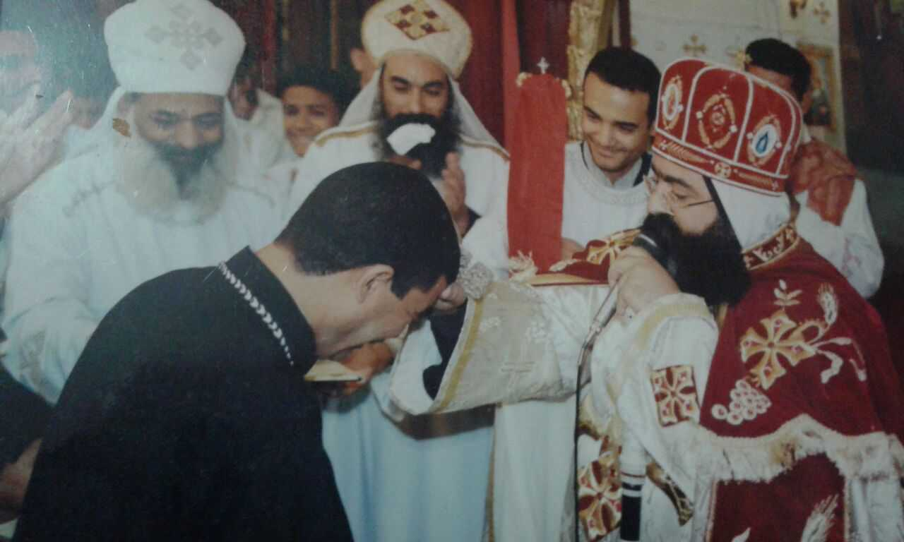 عيد ترقية القمص يسطس